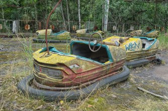 Pripyat dodgems