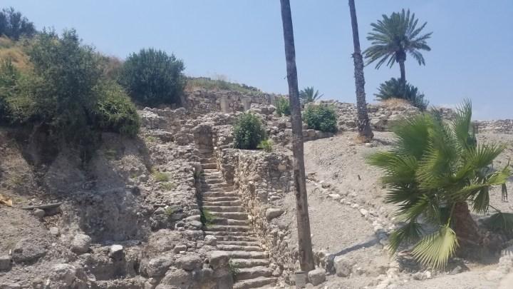 {Israel} Day 2: Caesarea National Park, Tel Megiddo National Park, & Safed