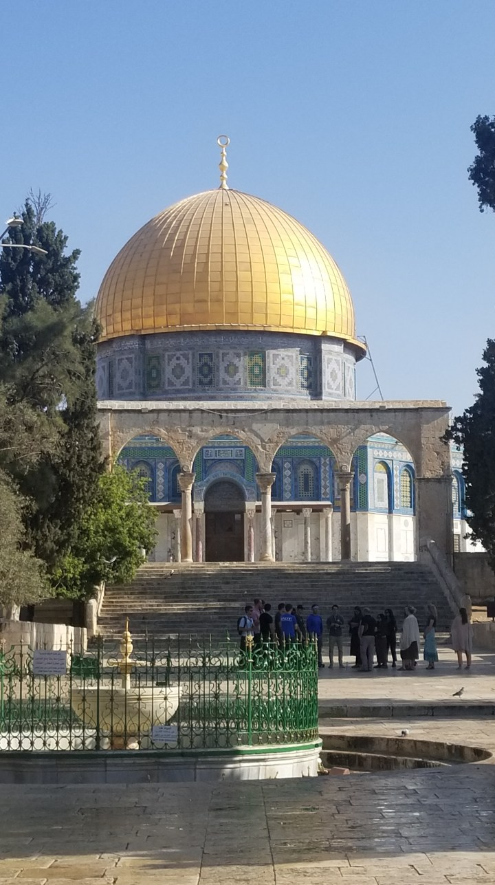 {Israel} Day 6: Temple Mount, Muslim Quarter, & Church of the Holy Sepulchre