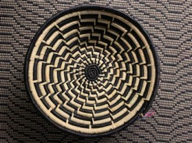 "Baskets with Design (12""-13"" diameter), $65.00"