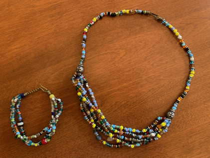 Matching Necklace and Bracelet, $40.00