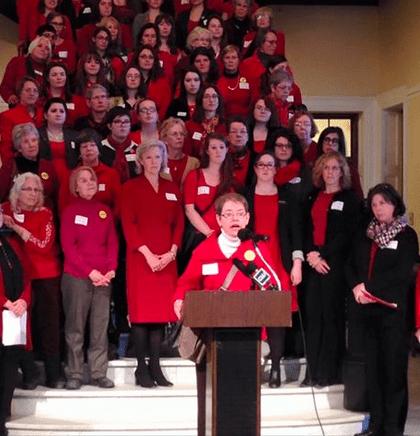 GRR joins Maine Women in Augusta