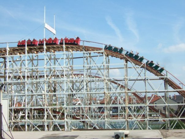 Secret of the Grand National Roller Coaster Blackpool