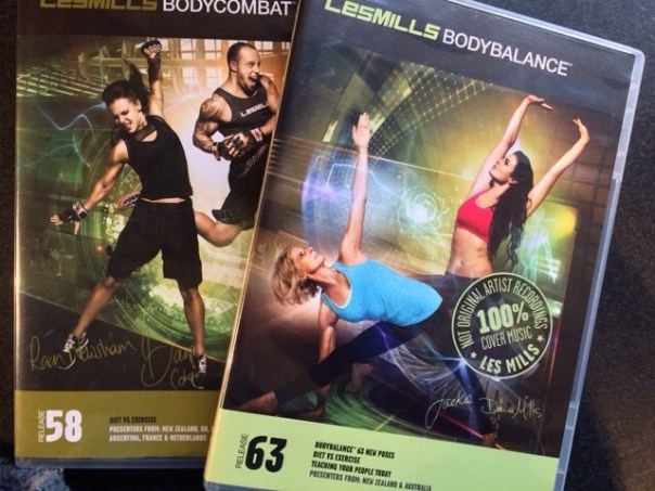 new Les Mills releases