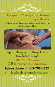 Edson Jeune - Therapeutic / Sports massage