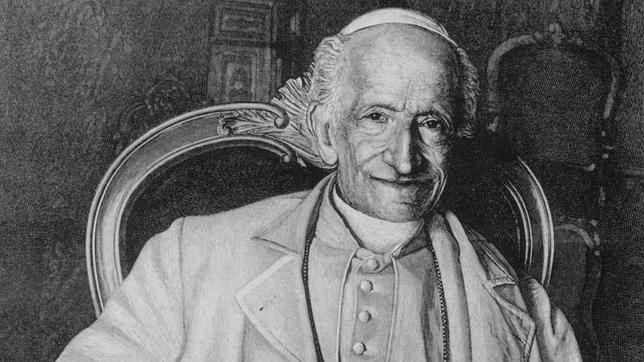 Папа Лев XIII, позировавший перед фотографом в 1878 году / ordo-ab-chao.fr