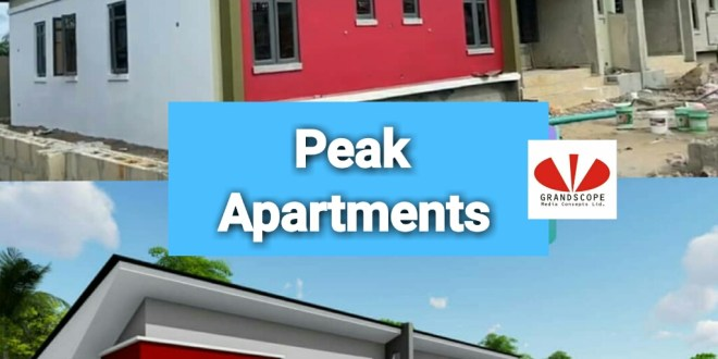 EXTENSION BUNGALOWS, PEAK APARTMENTS.