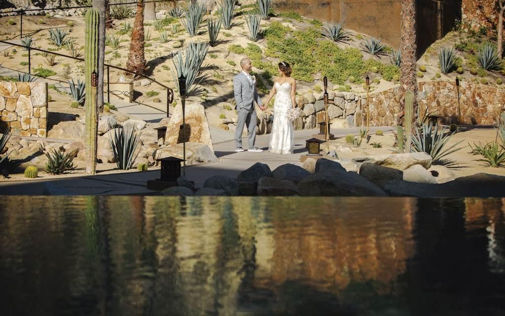 wedding at Grand Solmar Vacation club