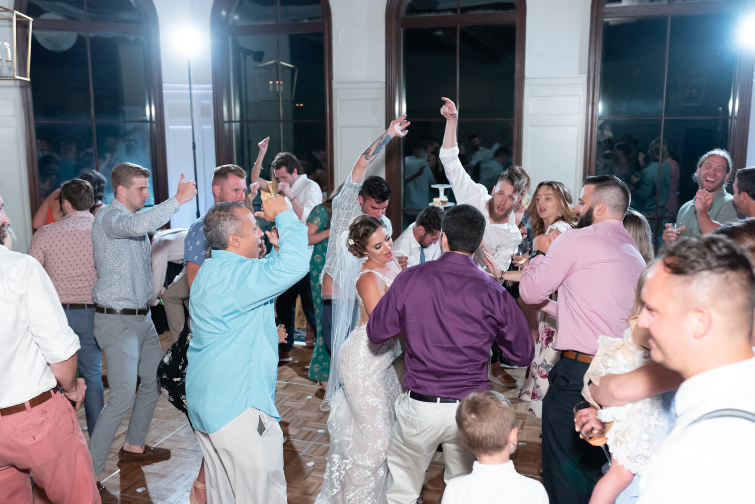 Everyone having fun on the dance floor - Grande Dunes Ocean Club - Myrtle Beach