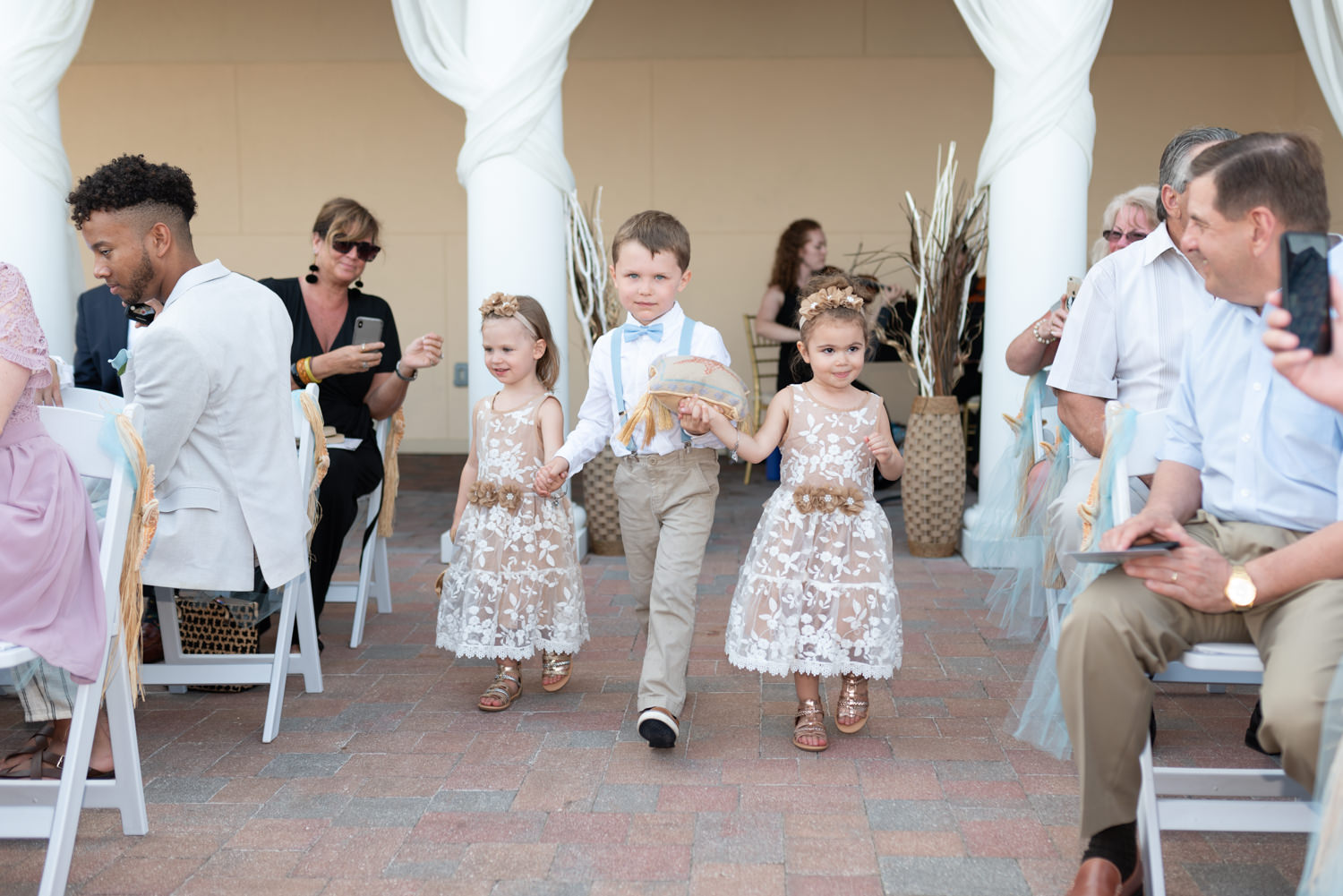 Ring-bearer and flower girls - Grande Dunes Ocean Club - Myrtle Beach