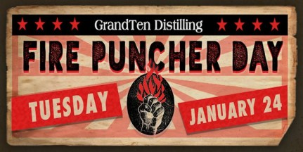 Fire Puncher Day Banner