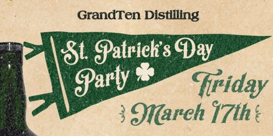 St. Patrick's Day Party Banner