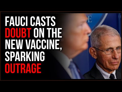 Dr. Fauci Is Casting DOUBT On The Vaccine And It's Sparking OUTRAGE, People NEED To Get Back To Work