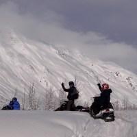 Alaska Day 5: Snowmobile 雪上摩托車日記 (Girdwood)