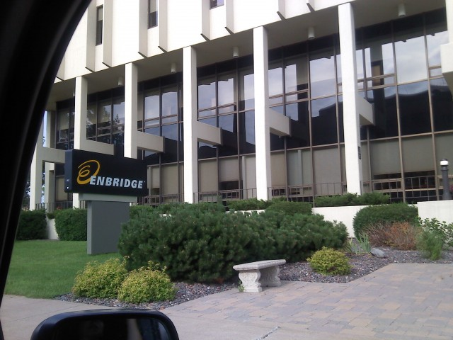 A vist to Enbridge