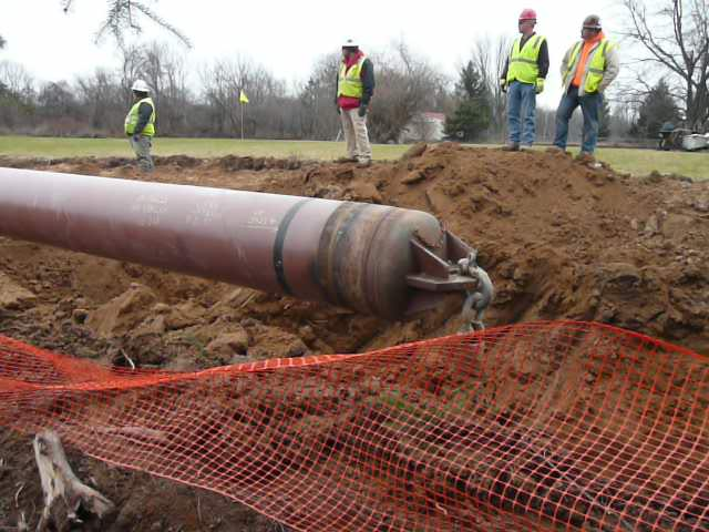 Pulling pipe (slideshow)