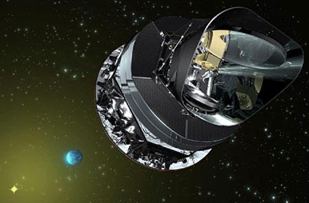 Planck. Изображение ESA