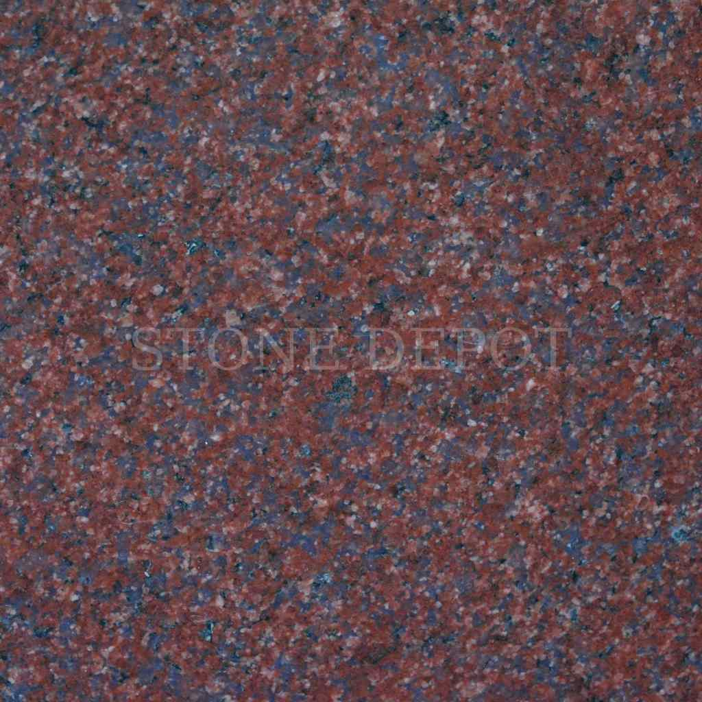 Imperial Red Granite Tile Polished Finish