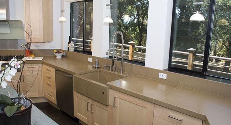 avoid concrete kitchen countertops