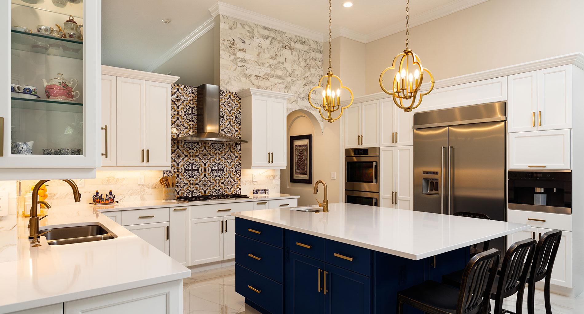 White Quartz Countertops Small Kitchen   Novocom.top