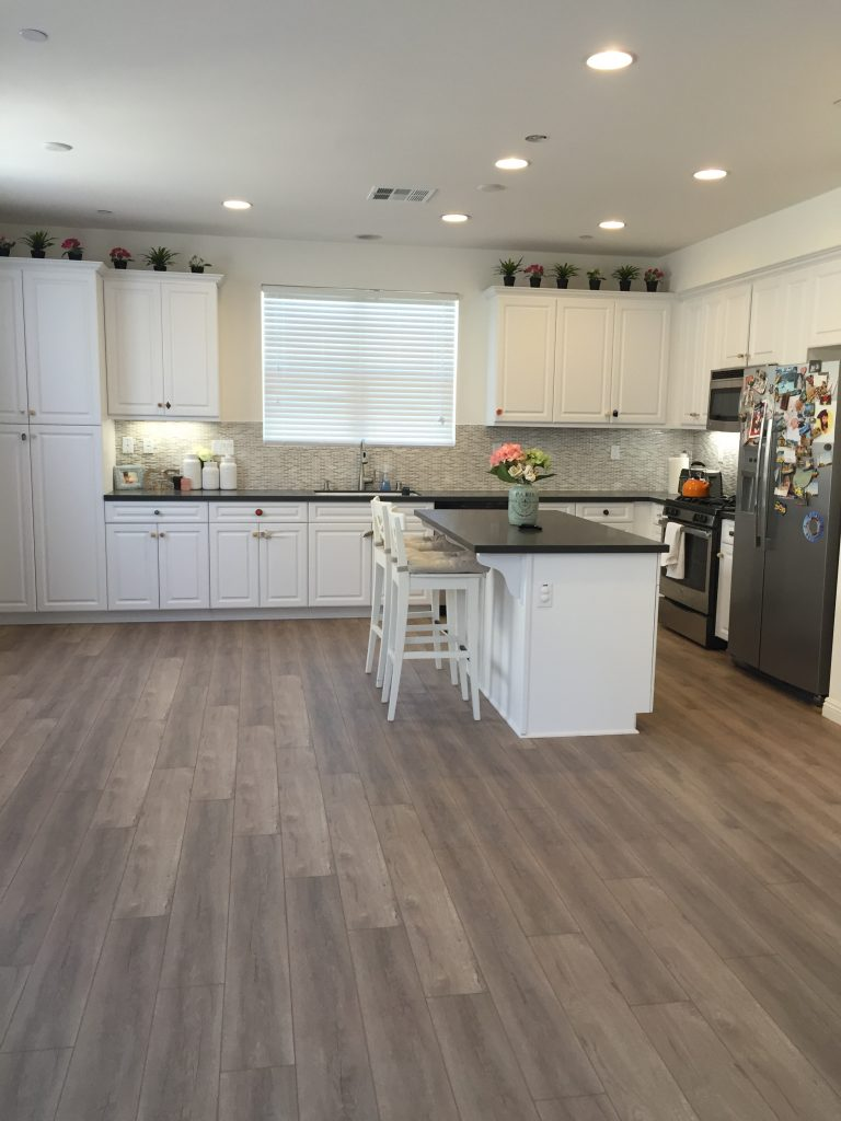 Quartz Kitchen Countertops Grey