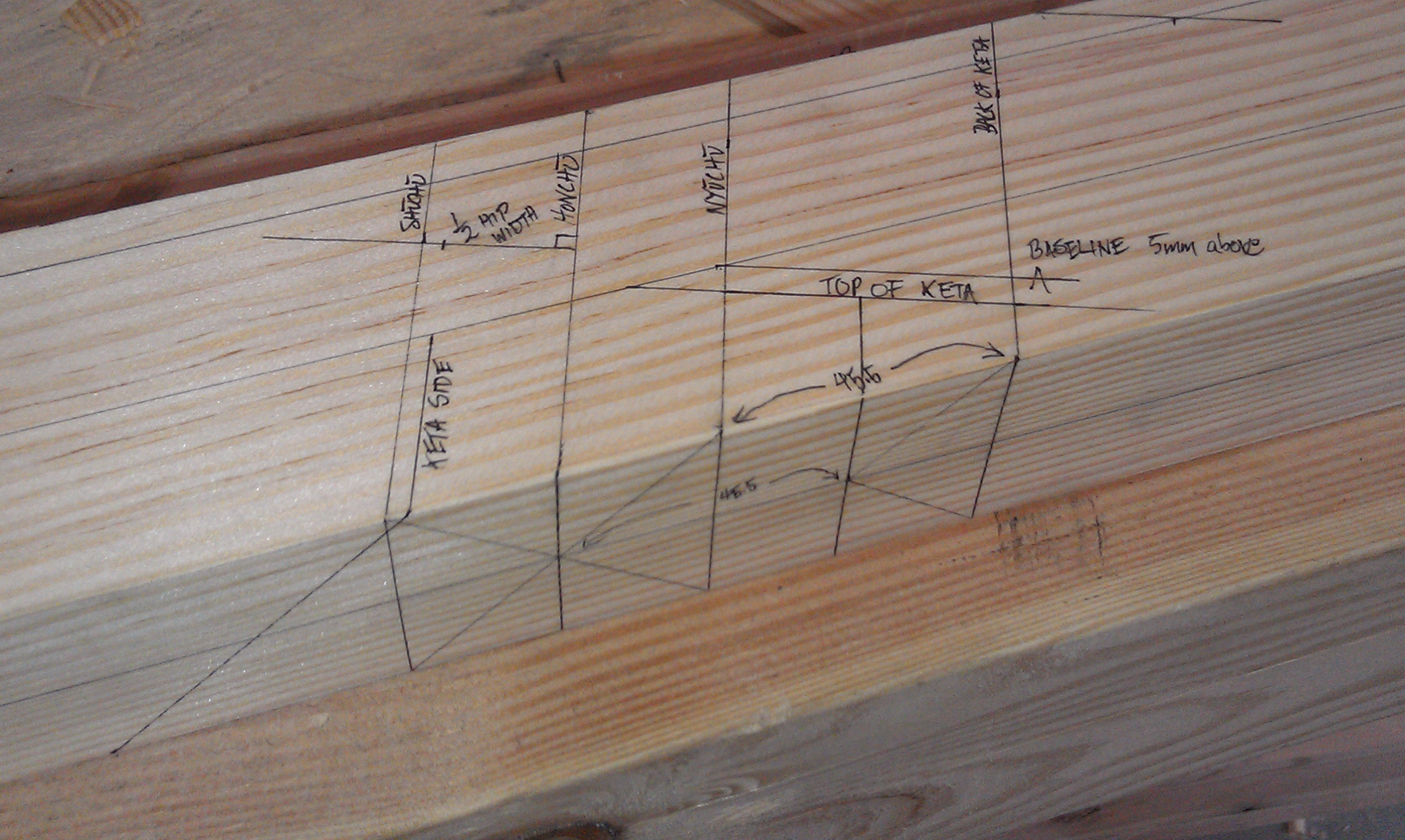 Layout For Simple Japanese Hip Roof