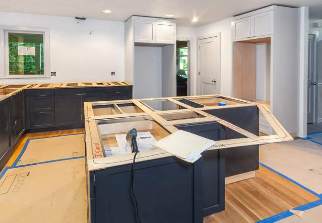 install quartz countertop without plywood