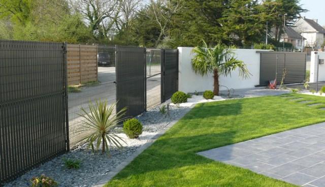 Petit jardin moderne