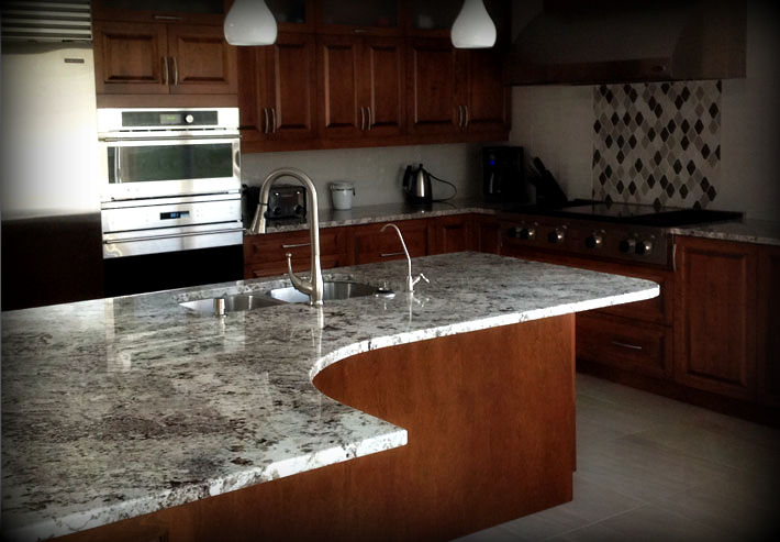 Alaska White Granite 330 Granit Plus