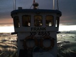 Gammal fiskebåt som tog oss ut på havet