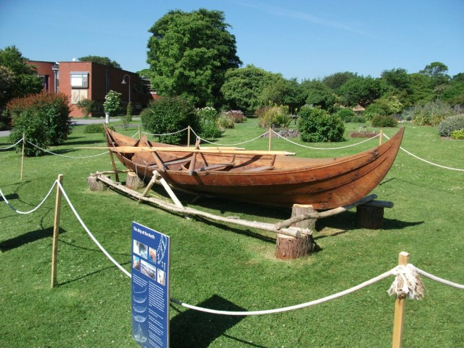 'Gro' the Viking Boat