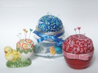Recycling containers into pincushions