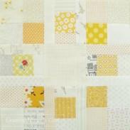 Circle of squares patchwork block