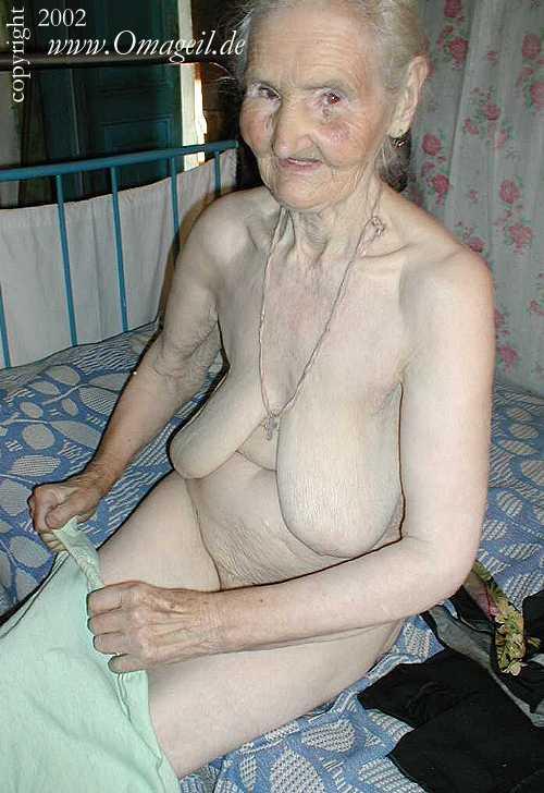 grannies very wrinkled old