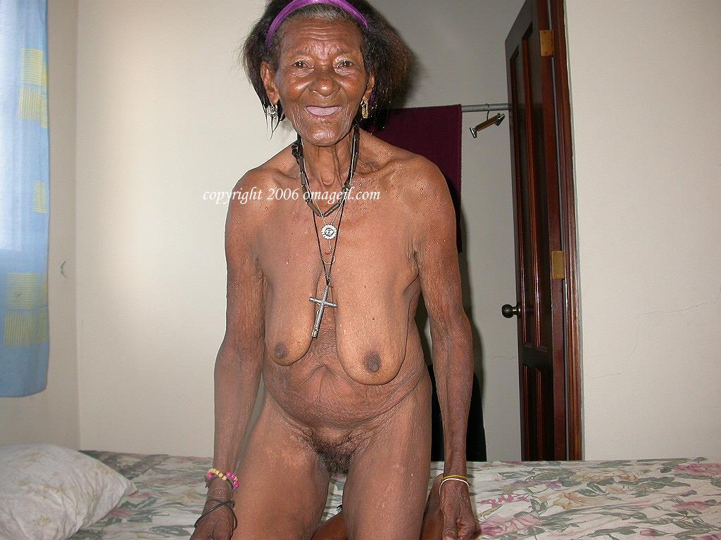 Naked at door