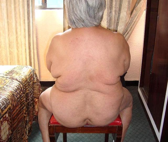 Bbw Granny Let Him Take A Picture
