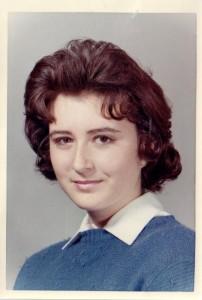Nelda Grace around the age of 16.