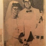 John and Shirley LaPrarie wedding pic