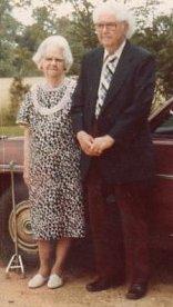 Grandma Gracie Wright oan son Lee Wright