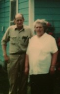 Papaw and Grandma Adams