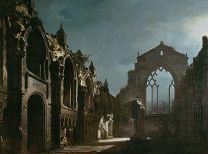 Ruinas_de_la_capilla_de_Holyrood_(Walker_Art_Gallery,_Liverpool,_1824,_214_x_260_cm)