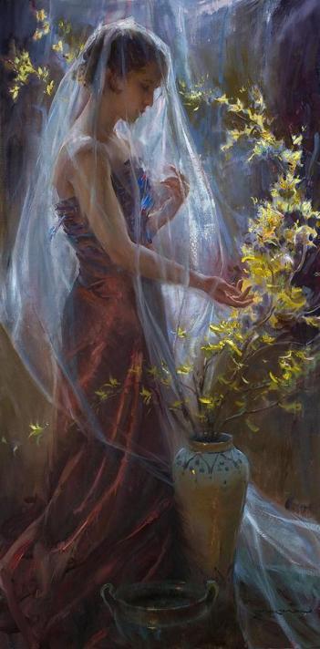 Amazing paintings of Daniel Gerhartz