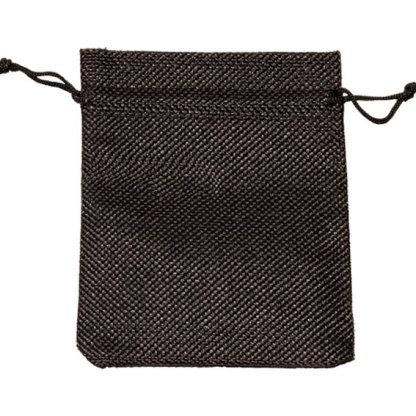 HP130-BK_hessian-look_drawstring_pouch_105x130mm_black