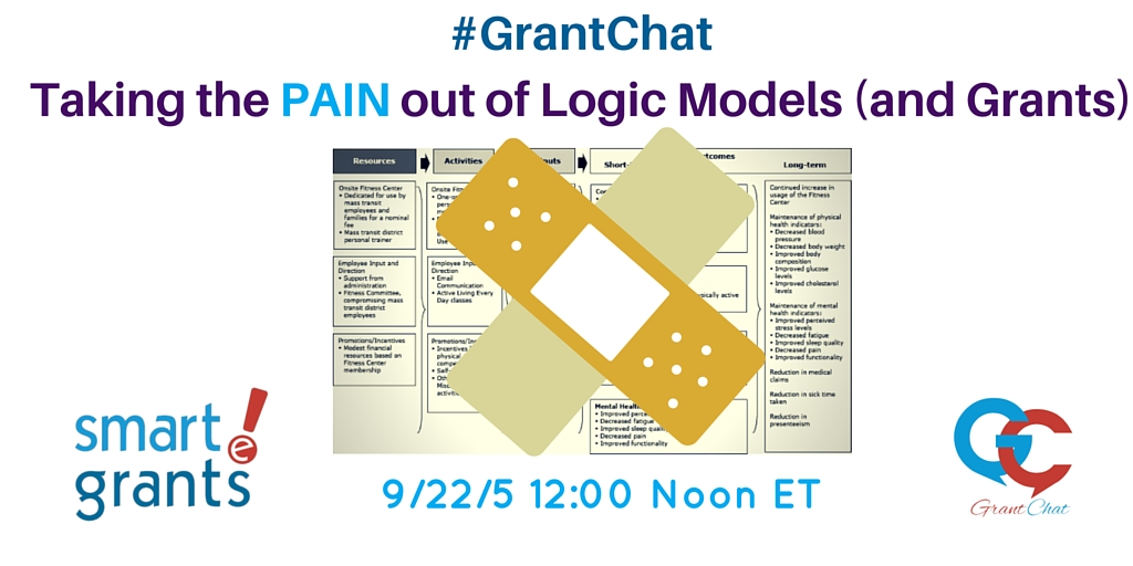 Taking the Pain out of Logic Models and #Grants