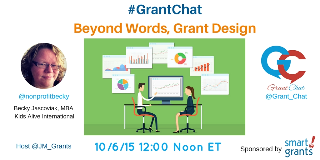 Beyond Works, Grant Design Grantchat Preview Questions. guest Becky Jascoviak