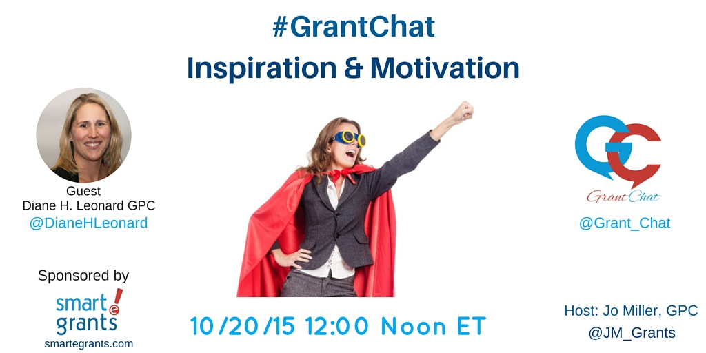 Inspiration and Motivation for the Grant Professional