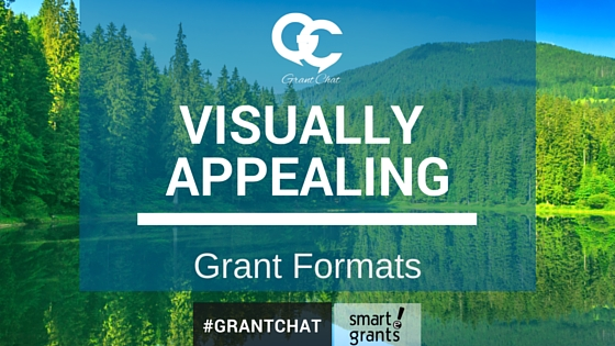 Visually Appealing Grant Applicaitons