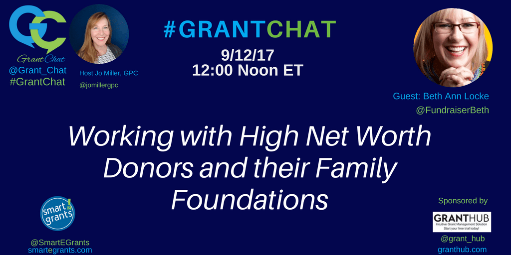 Working with High Net Worth Donors and their Family Foundations with Beth Ann Locke