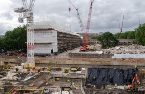 Housing construction in London