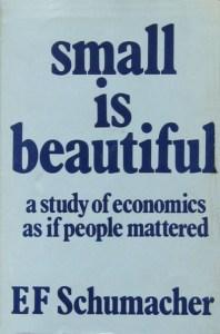 EF schumacher book cover
